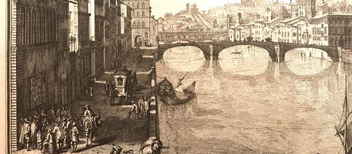 lungarno corsini ponte santa trinita Galleria Bazzanti