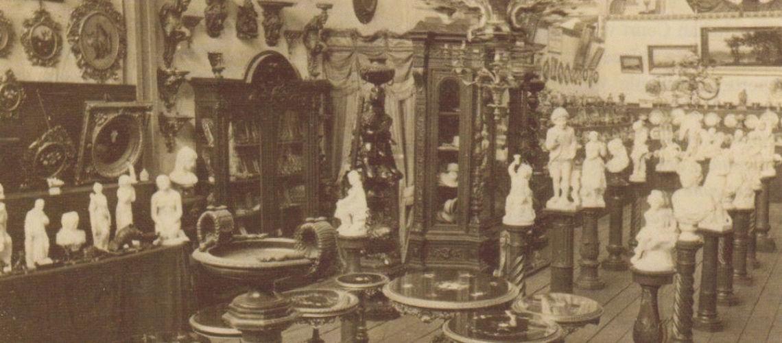 galleria bazzanti studio di scultura esposizione Melbourne - stand prodotti italiani