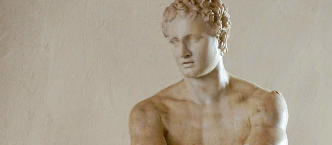 galleria-bazzanti-firenze-romani-marte-ludovisi-marmo