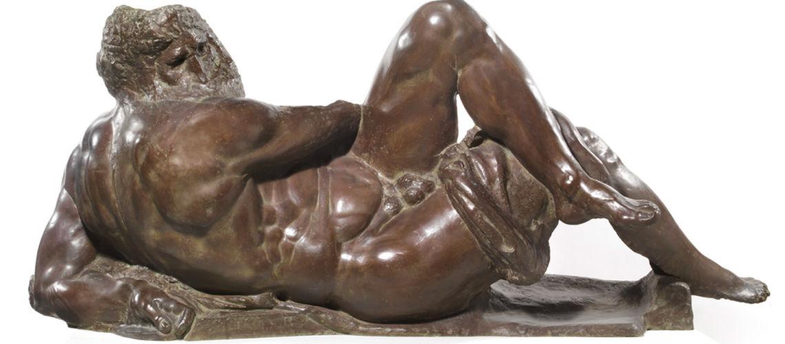 galleria-bazzanti-firenze-romani-giorno-michelangelo-bronzo