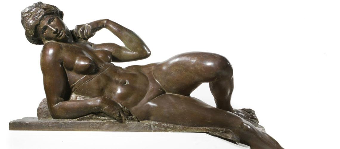 galleria-bazzanti-firenze-romani-notte-michelangelo-bronzo