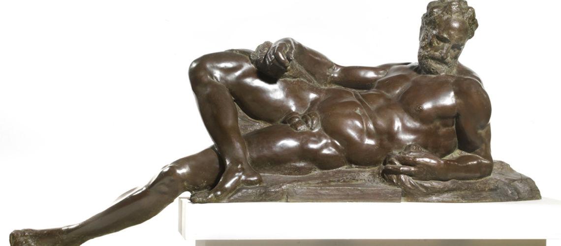 galleria-bazzanti-firenze-romani-aurora-michelangelo-bronzo