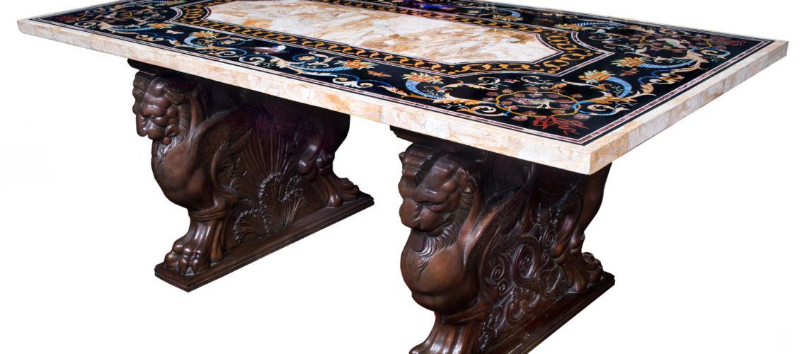 galleria-bazzanti-firenze-romani-tavolo-trapezofori-bronzo