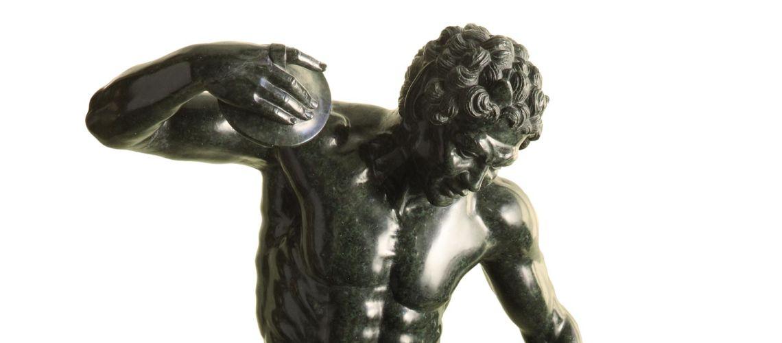 galleria-bazzanti-firenze-romani-fauno cimbali-marmo