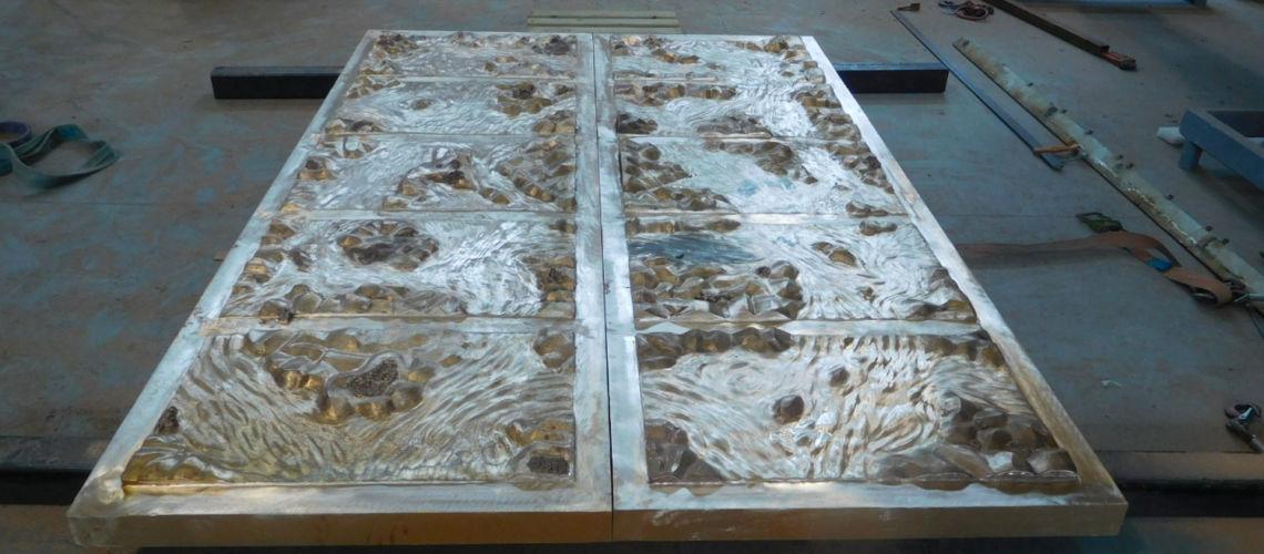 galleria-bazzanti-fonderia-marinelli-firenze-porta-fusa-bronzo