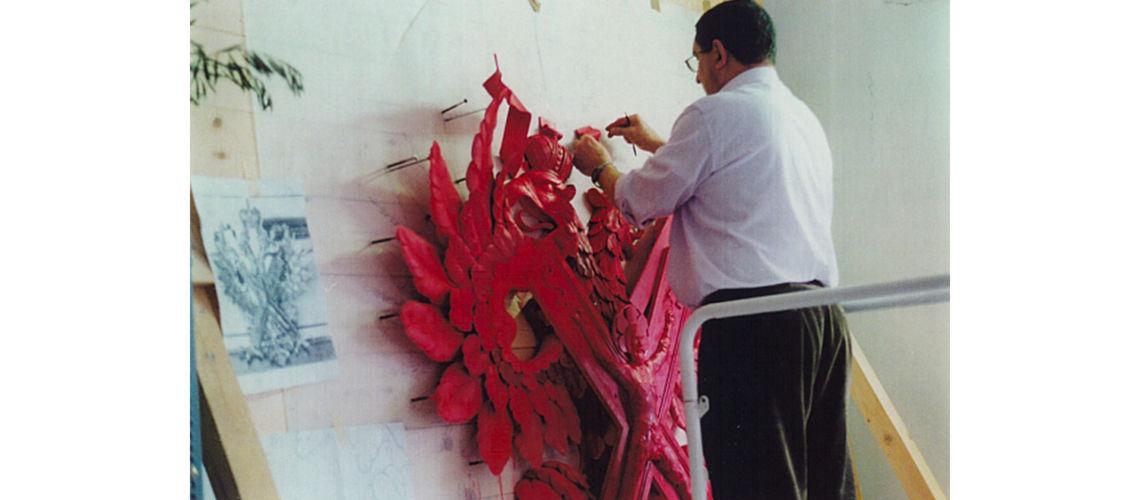 galleria bazzanti fonderia marinelli firenze restauro cremlino modello scultura