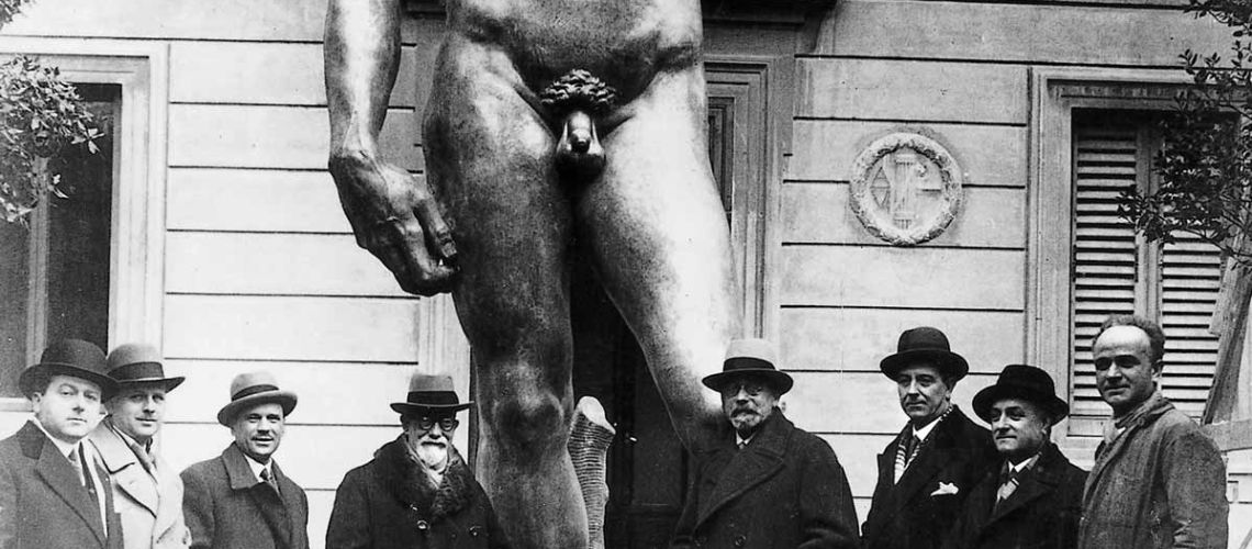galleria bazzanti fonderia marinelli firenze replica scultura david michelangelo in bronzo