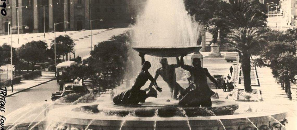 fonderia marinelli galleria bazzanti fontana tritoni malta bronzo restauro foto antica