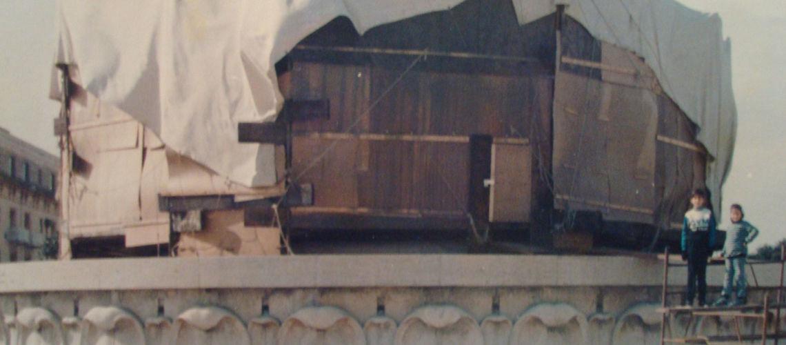 fonderia marinelli galleria bazzanti fontana tritoni malta bronzo restauro foto antica primo restauro