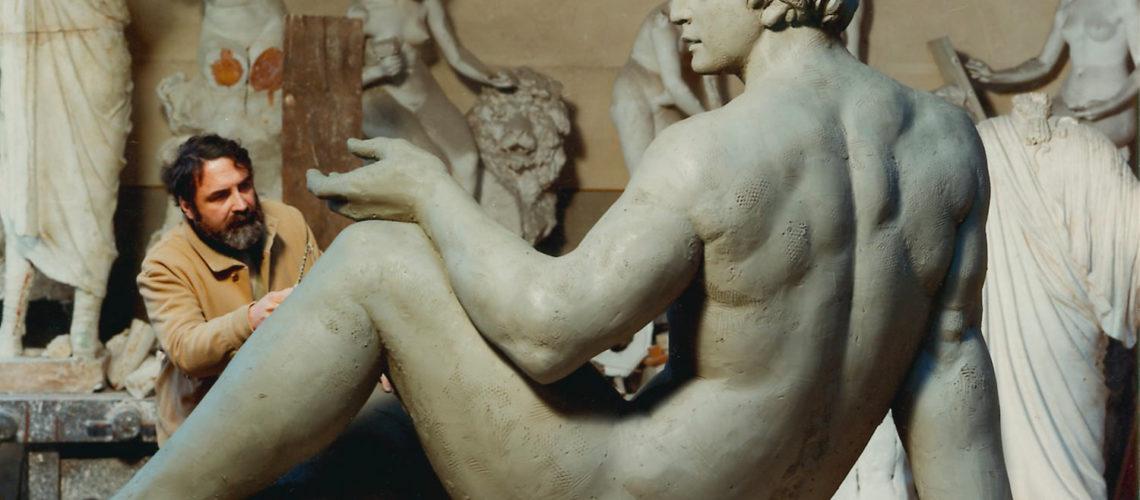 galleria bazzanti fonderia marinelli firenze sergio banvenuti fontana due oceani bronzo san diego usa creta