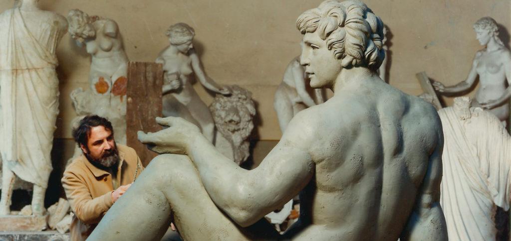 galleria bazzanti fonderia marinelli firenze sergio banvenuti fontana due oceani bronzo san diego usa