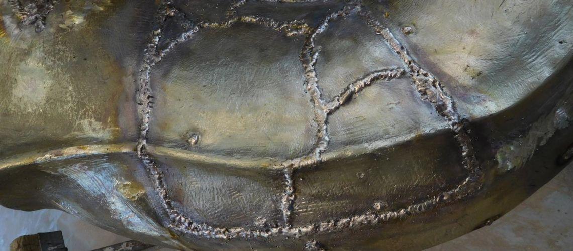 galleria bazzanti fonderia marinelli firenze restauro fontana tritoni in bronzo malta saldature