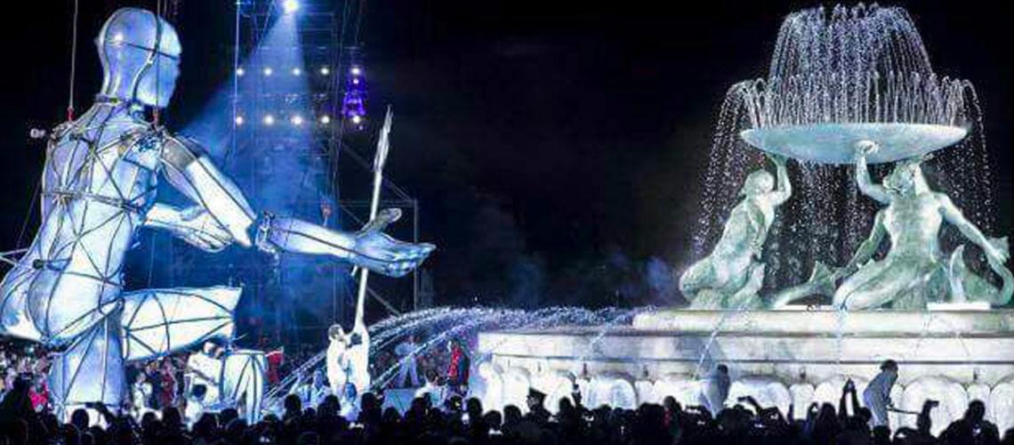 galleria bazzanti fonderia marinelli firenze restauro fontana tritoni in bronzo malta inaugurazione