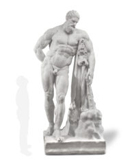 ercole-farnese-marmo-silhouette