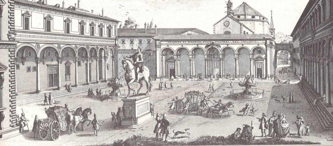 galleria-bazzanti-fonderia-ferdinando-marinelli-firenze-fontana-mostri-marini-tacca-bronzo-piazza-santissima-annunziata