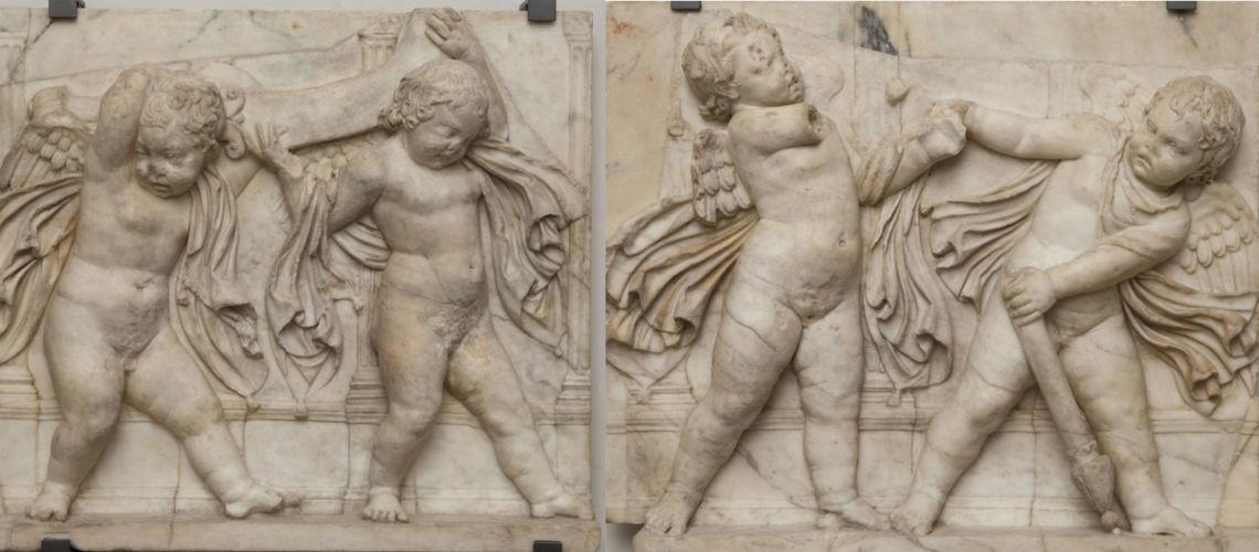galleria-bazzanti-fonderia-marinelli-scultura-donatello-putti-firenze-eros