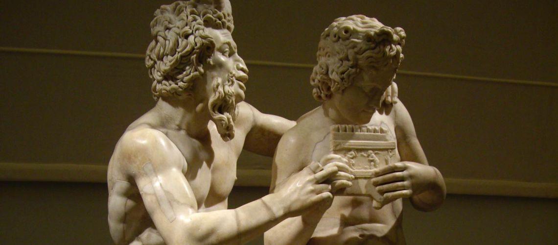 galleria-bazzanti-fonderia-marinelli-scultura-donatello-putti-firenze-eros-cupido-pan