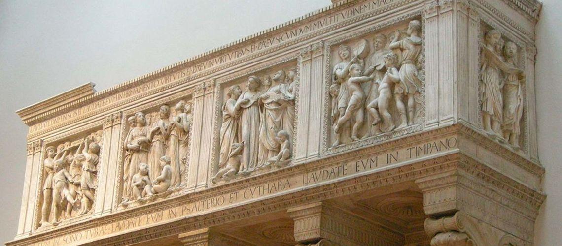 galleria-bazzanti-fonderia-artistica-ferdinando-marinelli-firenze-donatello-scultura-rinascimentale-cornicione-cantoria