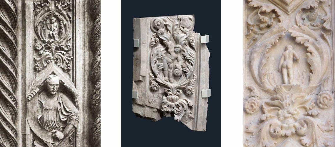 galleria-bazzanti-fonderia-marinelli-firenze-florence-donatello-putti-bronze-marble-