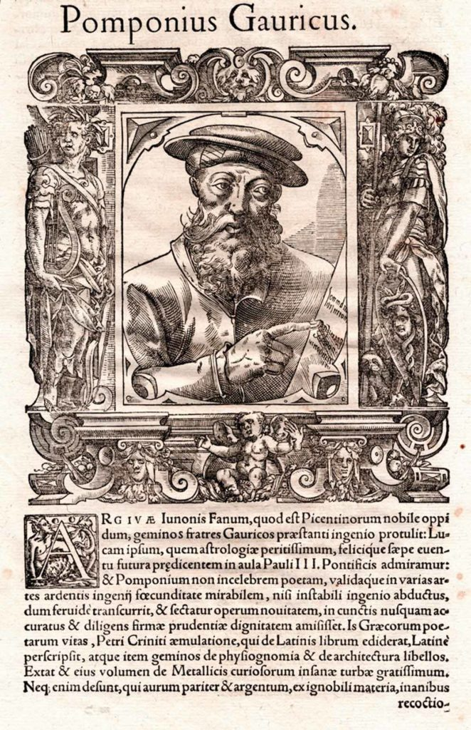 Galleria d'Arte Bazzanti Fonderia Artistica Ferdinando Marinelli Firenze fusione a cera persa bronze statuary casting bronze sculptures sculture bronzo pomponius gauricus