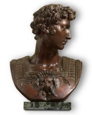busto-giuliano-de-medici-michelangelo-bronzo
