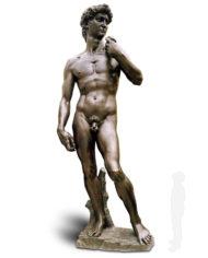 david-michelangelo-bronzo-silhouette