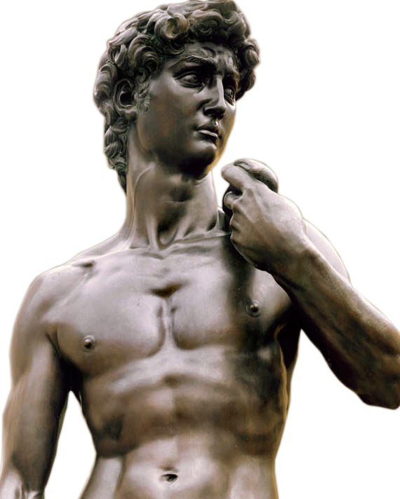 david michelangelo scultura bronzo fonderia marinelli galleria bazzanti firenze