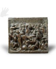 lotta-centauri-michelangelo-bronzo-silhouette