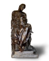 madonna-medici-michelangelo-bronzo