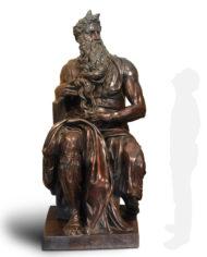 mose-michelangelo-bronzo-grande-silhouette