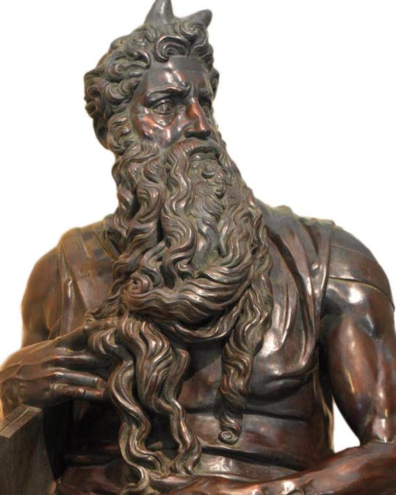 mosè michelangelo replica bronzo fonderia marinelli galleria bazzanti firenze