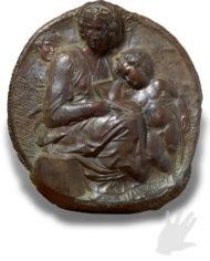 tondo-pitti-bronzo-michelangelo-silhouette