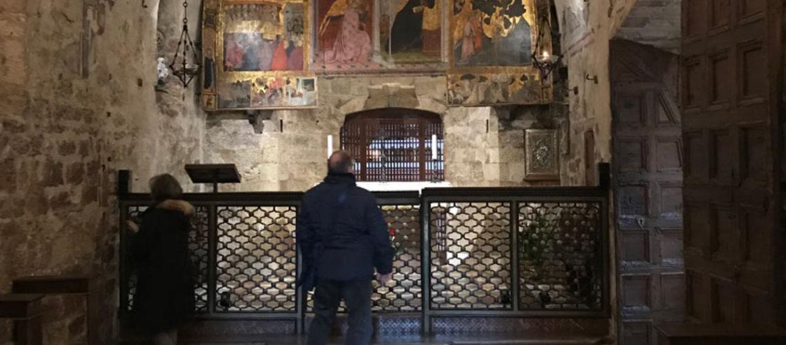 santa maria degli angeli assisi fusa dalla fonderia marinelli di firenze scultura in bronzo galleria bazzanti firenze porziuncola