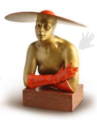 serenata-benvenuti-bronzo-silhouette