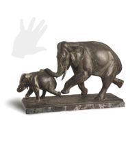 elefanti-tofanari-bronzo-silhouette