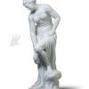 scultura in marmo bagnante o venere allegrain in vendita presso la Galleria Bazzanti di Firenze